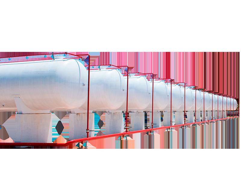 Tanques ASME | Tanques de gas sujetos a presión