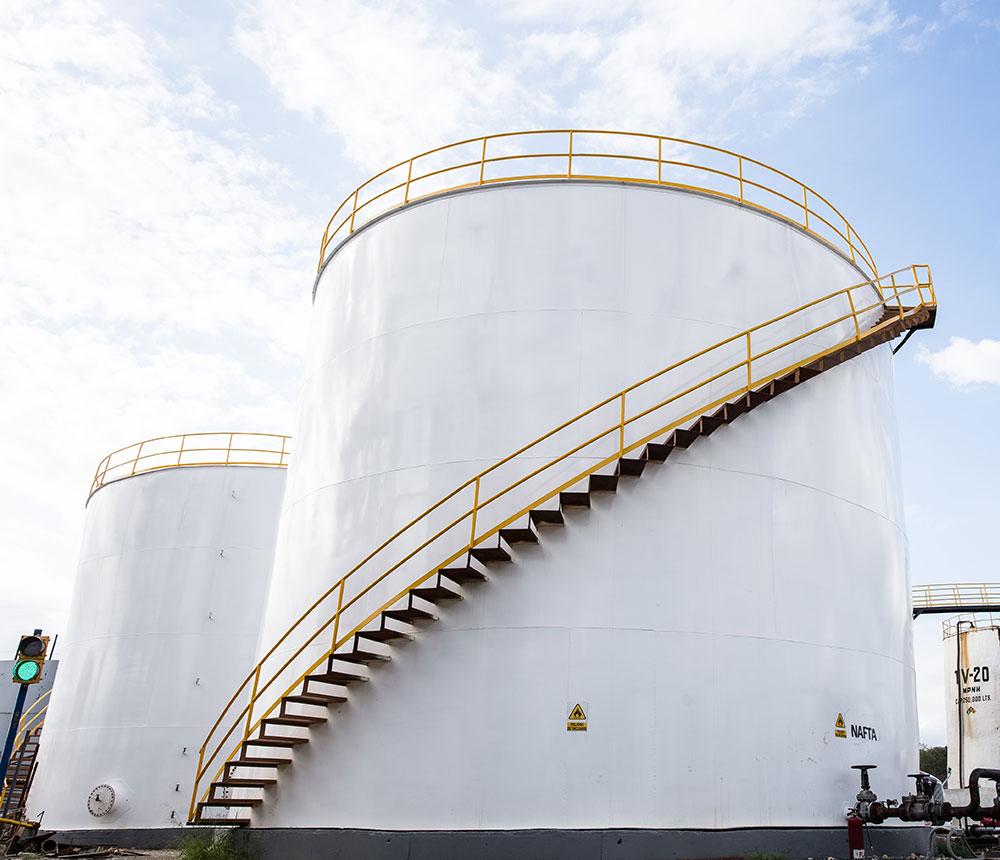 Tanque de gran Capacidad para almacenar Diesel - Camex