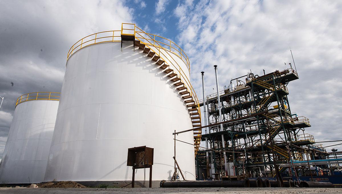 Terminal de almacenamiento para hidrocarburos - Camex